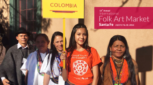 Colombia en el International Folk Art Market