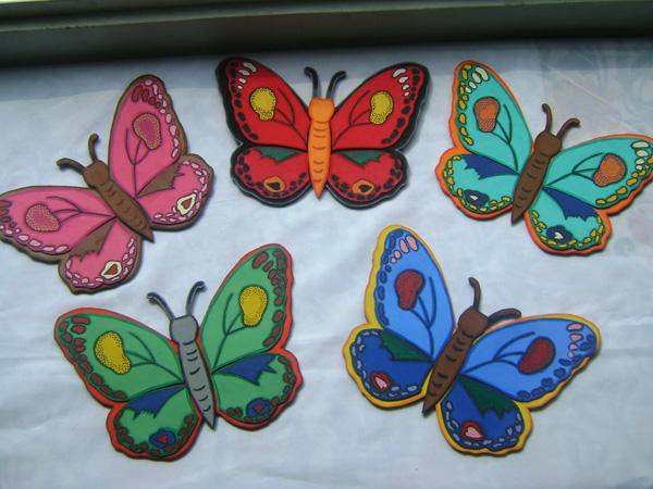 Como hacer mariposas de fomy - Imagui