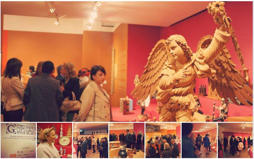 Imágenes de la Exposición Grandes Maestros de Arte Popular Iberoamericano