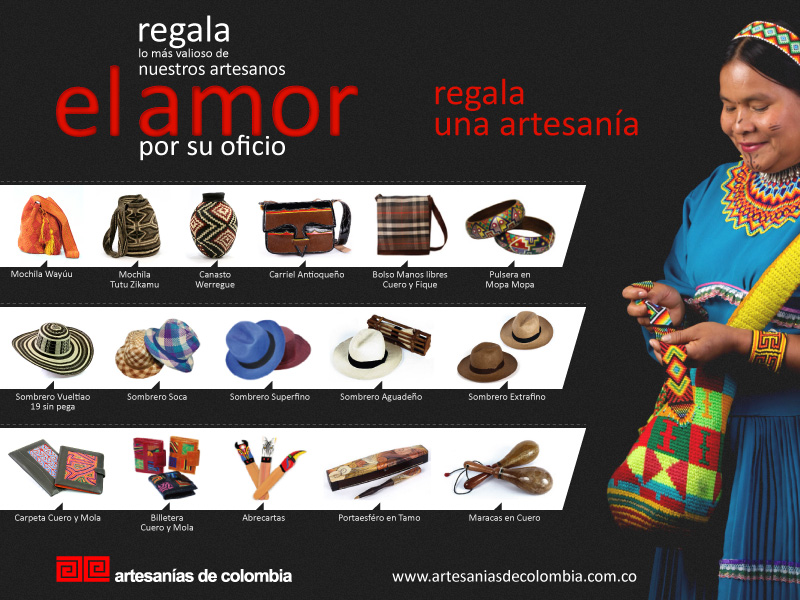 Amor y Amistad Artesanías de Colombia