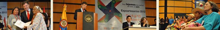 Inauguración Expoartesanías 2012