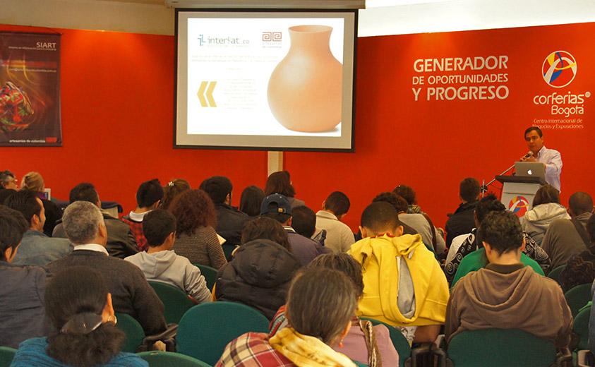 charlas Artesanía 2.0, Expoartesanías 2012