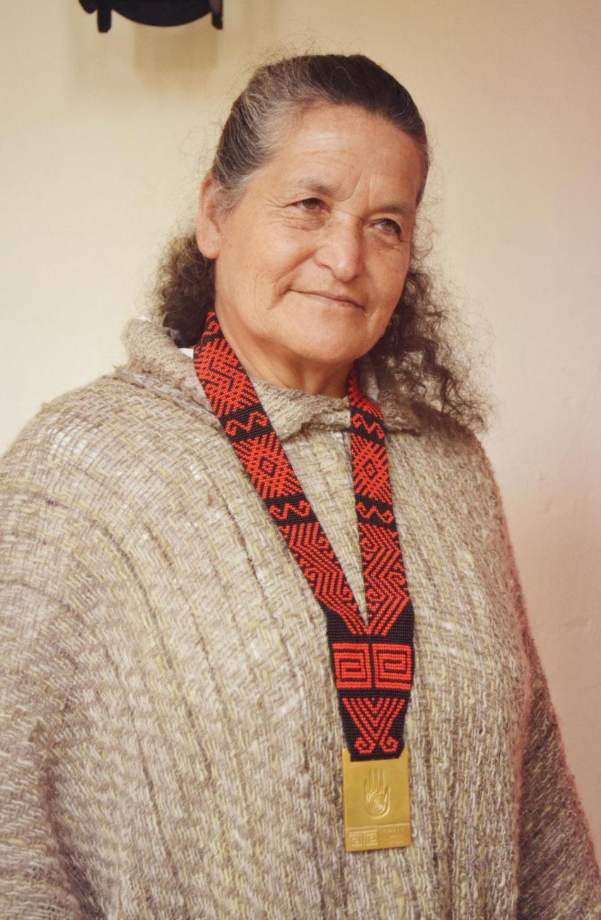 Medalla a la Maestría Artesanal Tradicional, Magdalena Aponte