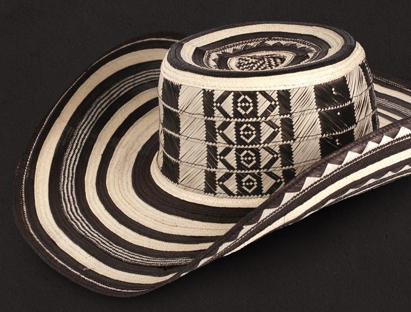 El tradicional de la cultura Zenú  Sombrero Vueltiao c1d02bf005ed