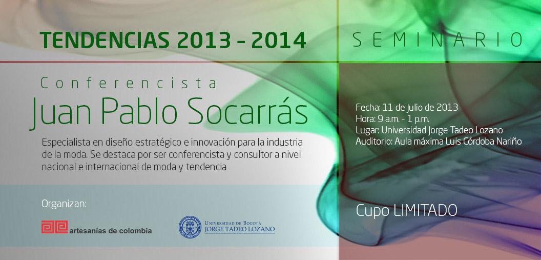 Seminario de Tendencias 2013 - 2014