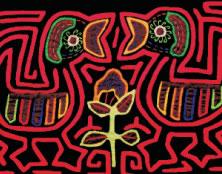 Mola confecci�n de los ind�genas Kuna - Urab�, Antioquia