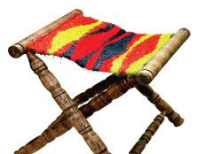 Tapetes, cuadros, bolsos, sillas en fique - Curiti, Santander