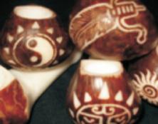 Talla en semilla de tagua - Chiquinquir� / Tinjac�, Boyac�